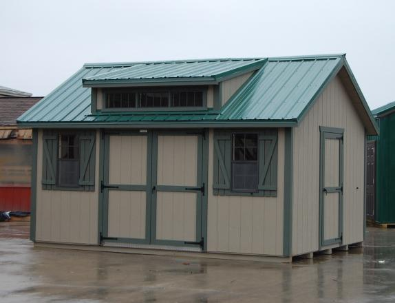 12x16 Custom Cape Cod Shed
