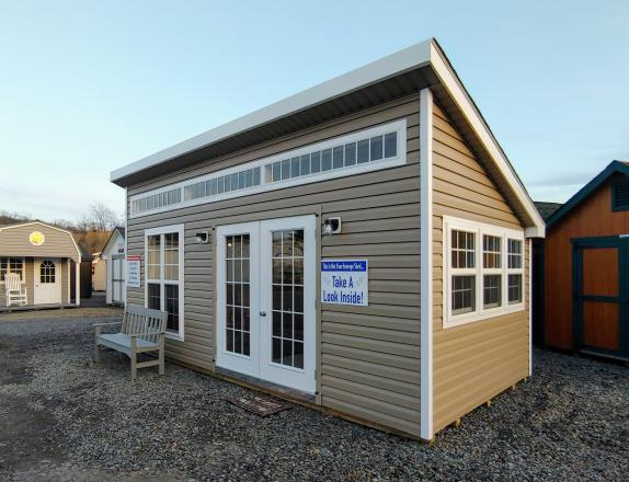 10x20 Lean To Office