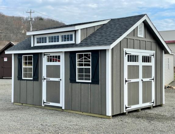 12 x 16 Cape Cod with Dormer