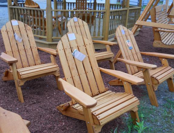 patio furniture, outdoor chairs, pine creek structures, pine creek