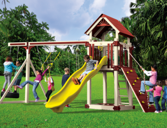 15x20 Kastle Series A-5 Deluxe Playset from Swing Kingdom