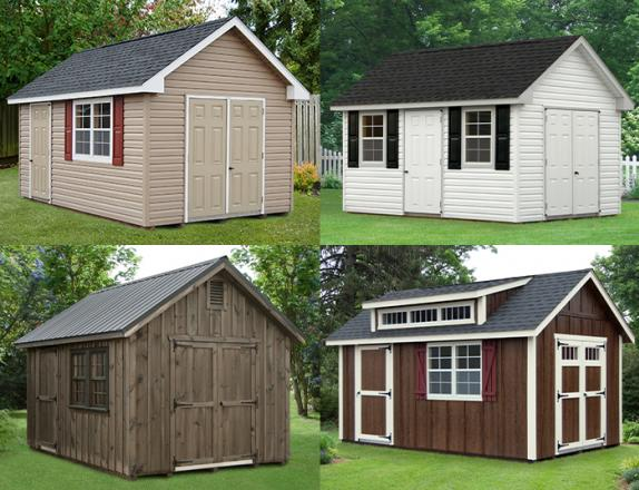 Custom Order a Cape Cod style storage shed from Pine Creek Structures of Elizabethtown