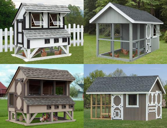 Custom Order a Chicken Coop from Pine Creek Structures of Egg Harbor