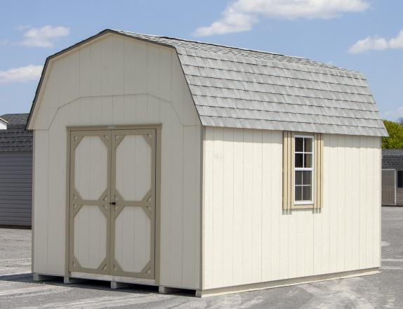 10x14 Gambrel Barn style storage shed from Pine Creek Structures of Elizabethville, PA