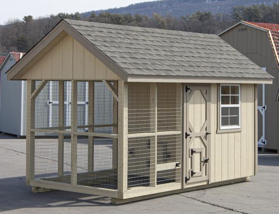 6x12 Chicken Coop available at Pine Creek Structures of Hegins (Spring Glen), PA