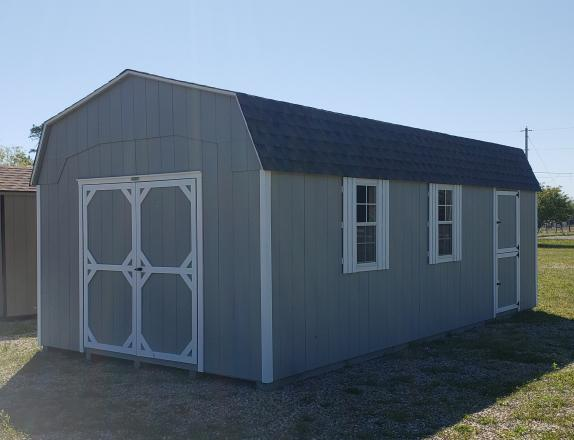 12x24 Dutch Barn Storage Shed from Pine Creek Structures in Egg Harbor, NJ