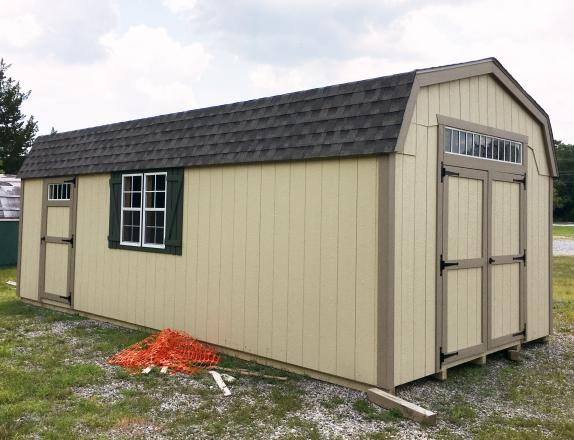 12x24 New England Dutch Barn Style Storage Shed from Pine Creek Structures