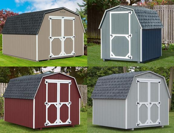 Custom Order a Madison Series (economy) mini barn style storage shed from Pine Creek Structures of Elizabethtown
