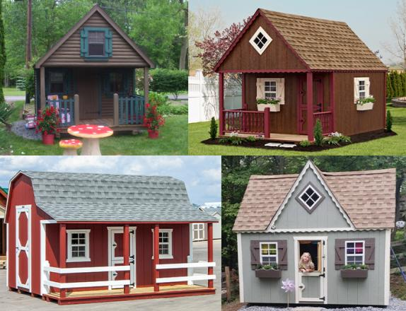 Custom Order a Child's Playhouse from Pine Creek Structures of Elizabethtown PA