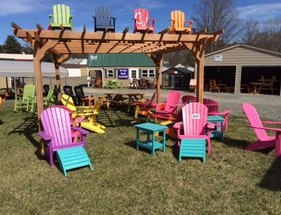 Poly Furniture  Adirondack chairs