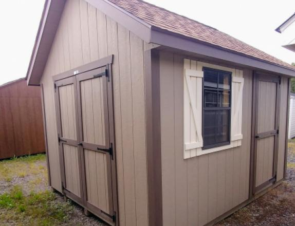 10 x 12 Cape Cod Style Shed