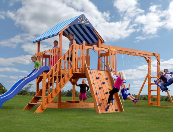 Pine Creek, The Sea King Wood Swing Set in Martinsburg WV 25404