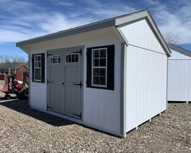 10x14 Cottage Style Storage Shed by Pine Creek Structures
