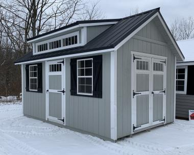 10X16 Cape Cod by Pine Creek Structures