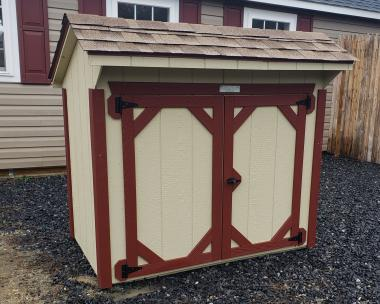 3x5 Garbage Can Shelter from Pine Creek Structures