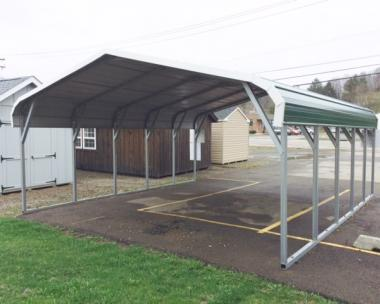 18 x 21 Bent Bow Carport