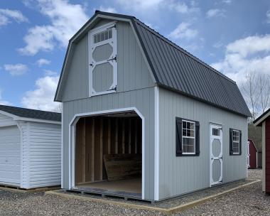 12x24 2 Story Garage by Pine Creek Structures