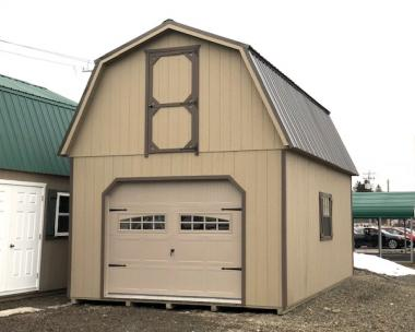 2 Story Gambrel Barn Garage