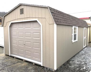 14 x 24 Dutch Garage w/loft