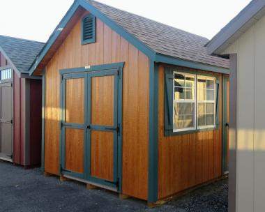 10x12 Cape Cod Storage Shed