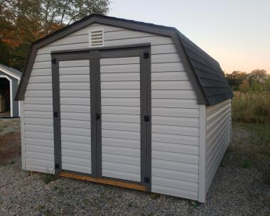 10x12 Vinyl Madison Mini Barn Storage Shed