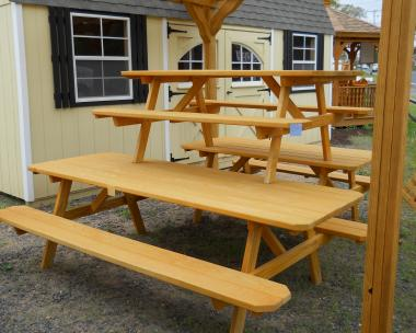 Picnic Tables by Pine Creek Structures Plainville CT