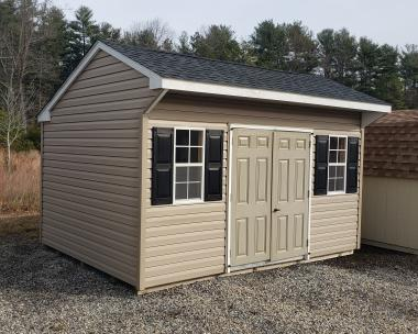10x14 Vinyl Cottage Storage Shed