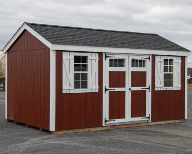 10x16 New England Style Peak Storage Shed for sale at Pine Creek Structures of Berrysburg