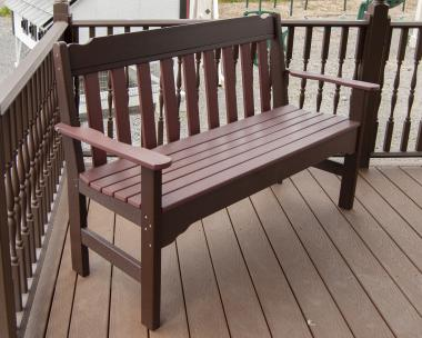 5' Poly Park Bench