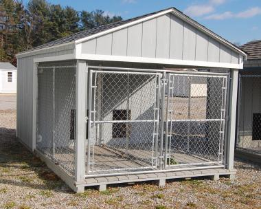 8x14 Large Double Dog Kennel