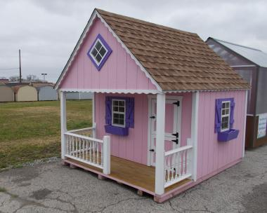 8x10 Clubhouse Playhouse from Pine Creek Structures