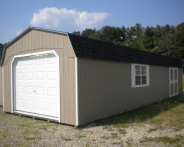 14x40 Gambrel Barn Style Garage at Pine Creek Structures