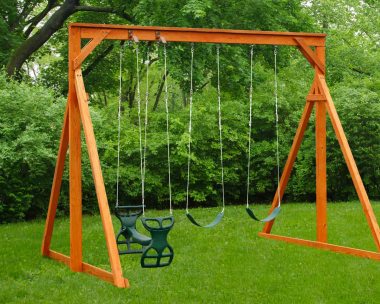 Pine Creek, Economy Swing Set Wood Swing Set in Martinsburg WV 25404