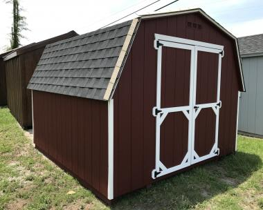 8x12 Vinyl Peak Storage Shed available at Pine Creek Structures of Millersville, MD (410) 729-8747