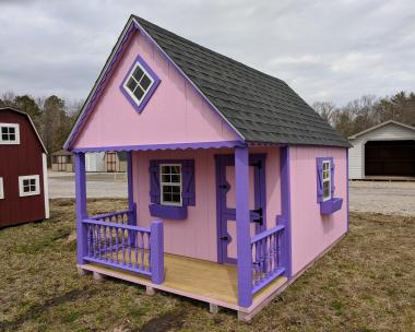 8x12 Clubhouse Playhouse in stock at Pine Creek Structures