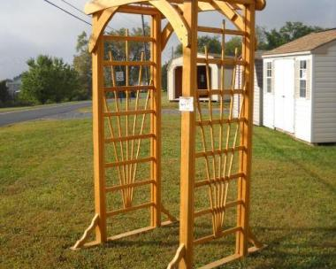 Wood Arbors ,Littlestown Pa, Pine Creek Structures, Lawn Furniture, ornaments