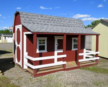 8x12 Barn Playhouse