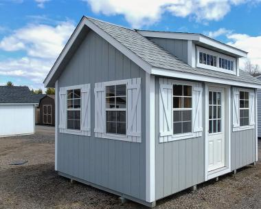 10x14 Cape Cod Office Shed