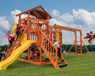 Pine Creek, The Eclipse Wood Swing Set in Martinsburg WV 25404