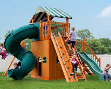 Pine Creek, The Launching Pad Wood Swing Set in Martinsburg WV 25404