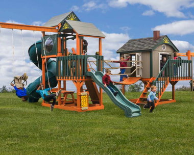 Pine Creek, The Moon Walk Wood Swing Set in Martinsburg WV 25404