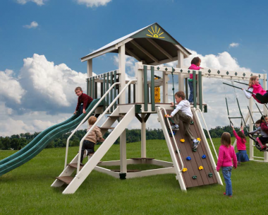 Pine Creek, The Sea King Vinyl Swing Set in Martinsburg WV 25404