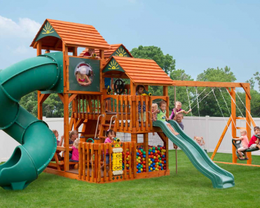 Pine Creek, The Shooting Star Wood Swing Set in Martinsburg WV 25404