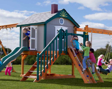 Pine Creek, The Space Station Wood Swing Set in Martinsburg WV 25404