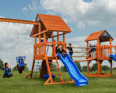 Pine Creek, The Space Walk Wood Swing Set in Martinsburg WV 25404