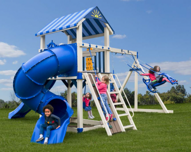 Pine Creek, The Starboard Escape Vinyl Swing Set in Martinsburg WV 25404