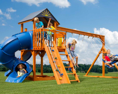 Pine Creek, The Starboard Escape Wood Swing Set in Martinsburg WV 25404