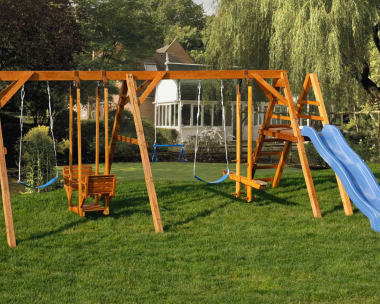 CLICK to get more information and photos of this Martinsburg WV, Wood Swing Set