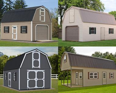 Custom Order a 2-Story Building from Pine Creek Structures of Egg Harbor