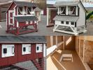 Custom Order a 4x6 Mini Chicken Condo from Pine Creek Structures of Egg Harbor